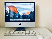 """Apple Imac Model A1224 20"""" Boxed in excellent condition!"""