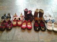 baby girl shoes size 1 and 2