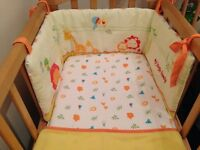 Mothercare My Jungle Family Crib Bedding Set
