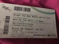 Drake Tickets For Tonight 22/02/17