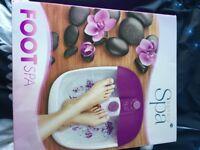 Sensio Foot Spa BNIB