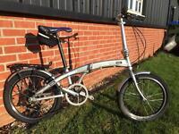 Folding bike Claud Butler nimbus