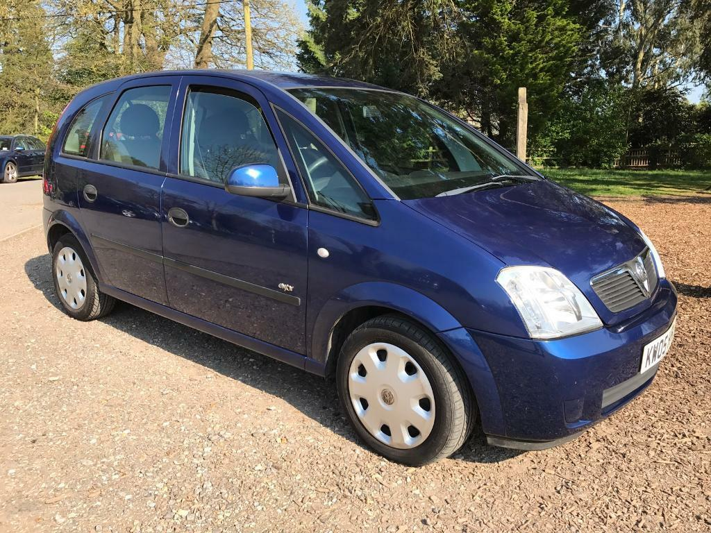 Vauxhall meriva enjoy 1.6