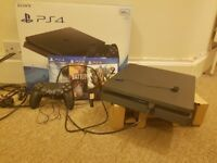 PlayStation 4 Slim 500GB Console with 3 Games