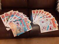 30 Beano and 18 Dandy Comics - £25