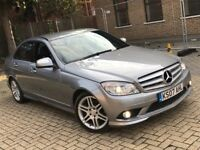 MERCEDES BENZ C CLASS C220 2.1 CDI AMG SPORT SALOON DIESEL MANUAL GREAT DRIVE NOT E ML 5 3 SERIES X5