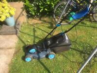 Einhell electric lawnmower