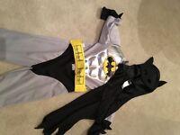 Batman dress up outfit age 5-6
