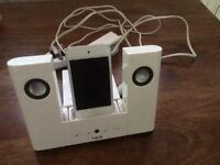 iPod touch with Docking station.
