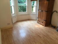 Converted Ground Private Entrance 1 Bed Flat Separate Rooms Doors To Small Patio VeryNearBRBusShops