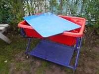 Children's Water Tray with Lid