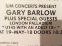 Gary Barlow at London Palladium