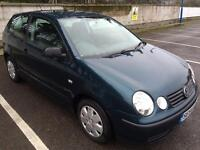 2004 VW POLO 1.2 ONLY 88,000 WITH FULL SERVICE HISTORY, DRIVES PERFECT