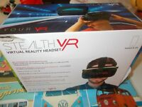 stealth virtually reality headset as new