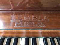 Piano- Kemble Minx. All keys and the inside hammers/ structure are in excellent working order