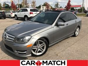 2012 Mercedes-Benz C-Class C300 4MATIC / AMG SPORTS PKG / PANO S