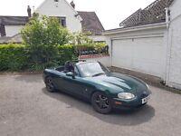 Mazda mx5 low mileage track/drift/turbo modified 1.8 is LSD 12 months MOT