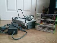 Xbox 360 with Games, Storage and WI-FI