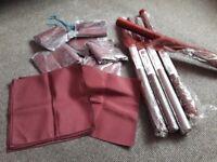 Burgundy cloth napkins for sale