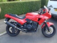 TRIUMPH SPRINT SPORT Ltd edition. 3.8k miles. Immaculate bike with new michelin pilot tyres