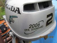 HONDA STANDARD EPA OUTBOARD MOTOR