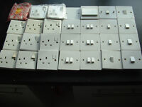 Job Lot of Electrical switches and sockets