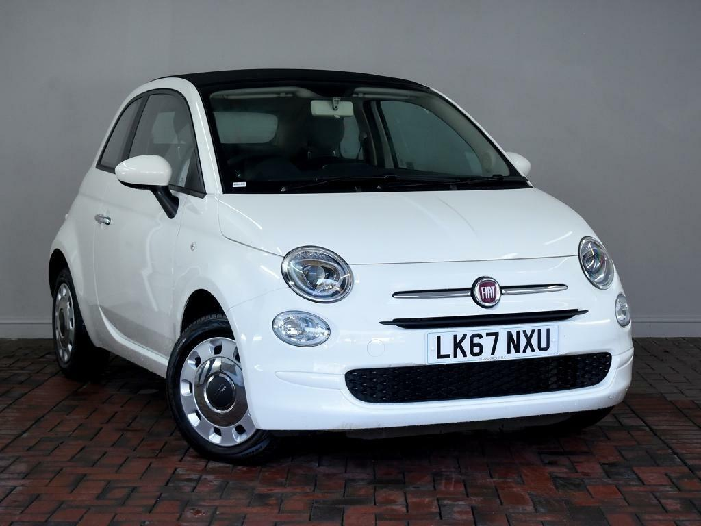 Fiat 500 1 2 Pop Bluetooth 2dr Dualogic Auto White 2017 In