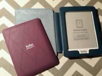 Kobo Mini eReader 2GB, WIFI 5 Inch white