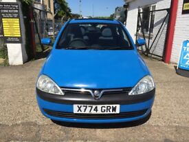vauxhall corsa 973cc one owner 75000 miles