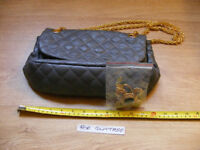 Butler and Wilson bag, unused with brooch