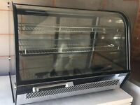 Polar Chilled Food Display 100Ltr Black New (No VAT)