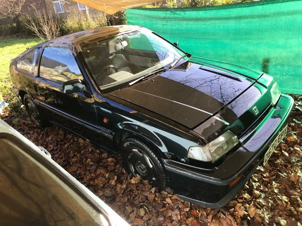 Honda CRX Mk1 Black 1 previous owner 1.6 manual project car