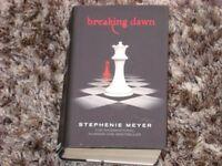 Breaking Dawn Book - Hardback.