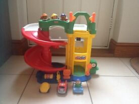 FisherPrice little people car garage