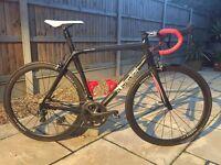 Nichelson Proctor carbon fibre medium racing bike