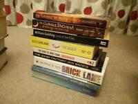 Set of 10 books.