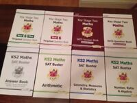 CGP KS2 Year 6 Brand New Books English and Maths Sat Busters Half Price