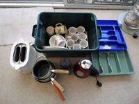 Mix box of kitchen accessories