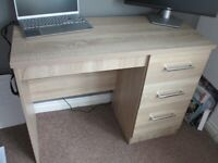Lovely solid wooden desk for sale - Excellent condition