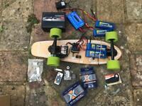 Custom Electric Skateboard (Fast)