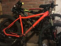 2 mountain bikes used