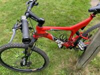 GT I drive comp full suspension mountain bike
