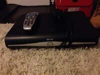 Sky box with remote. Perfect condition