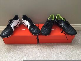 Nike Tiempo football boots Size 10