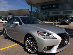 2014 Lexus IS 250 1 Owner Lthr AWD Btooth Sroof BUcam