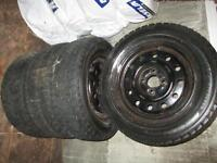 Winter Tires & Rims 185/65R14