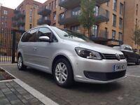 VW TOURAN 2.0 TDI AUTO SE   SAT-NAV   REVERSE CAMERA   PARKING SENSORS