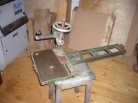 spindle moulder sliding table