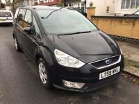 2009 AUTOMATIC Ford Galaxy Mpv EDGE TDCI Diesel 1997cc.7 SEATER. BRILLIANT DRIVE.LONG MOT.E/W/M.A/C.