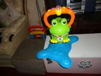 jumping musical frog all working as new